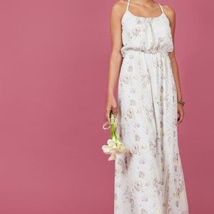 NEW Modcloth All Lovely Botanical Maxi Dress